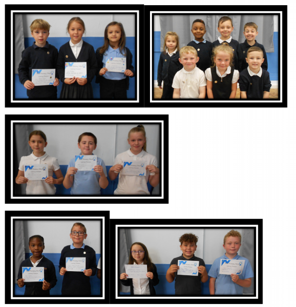 This Week's Learning Champions - #AimHigh